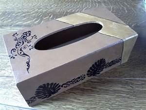 Boite Mouchoir Deco : boite mouchoir d co l zard polyn sien ~ Melissatoandfro.com Idées de Décoration