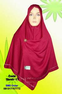 jilbab segi empat besar dan tebal jilbab tebal fiddini