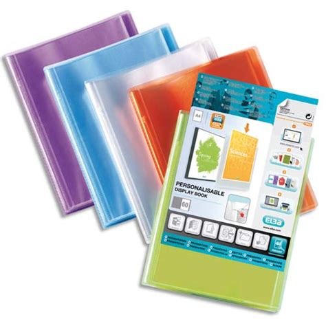 prot 232 ge documents personnalisable transparence perso 200 vues 100 pochettes coloris assortis