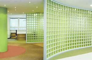 Wand Aus Glasbausteinen : raumteiler aus glasbausteinen von solaris ~ Markanthonyermac.com Haus und Dekorationen