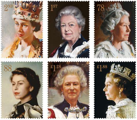 gallery queen elizabeth ii royal mail stamps metro uk