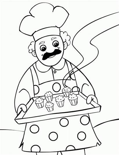 Muffin Coloring Muffins Know Nursery Rhymes Popular