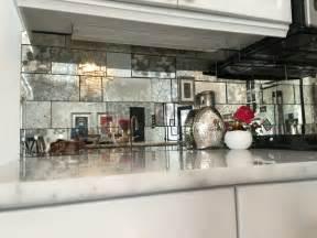 kitchen backsplash mirror antique mirror backsplash installed