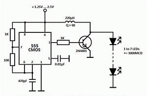 Led Driver Circuit With 555 Timer