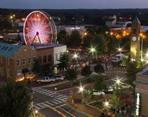 Downtown Spartanburg South Carolina