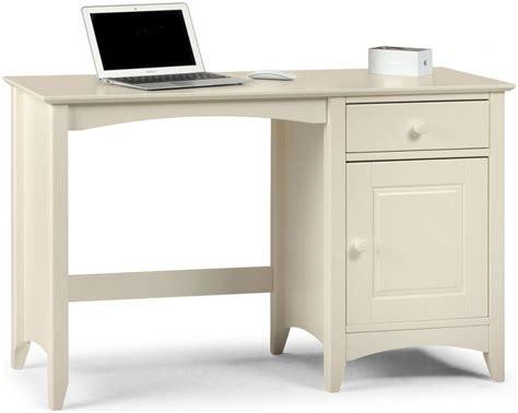 off white desk with drawers buy julian bowen cameo desk julian bowen cameo desk and hutch