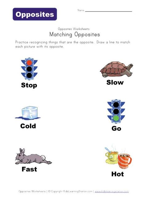 match opposites worksheet opposites worksheet opposites