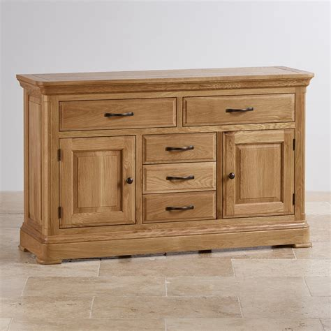Canterbury Oak Sideboard by Canterbury Large Sideboard Solid Oak Oak Furniture Land