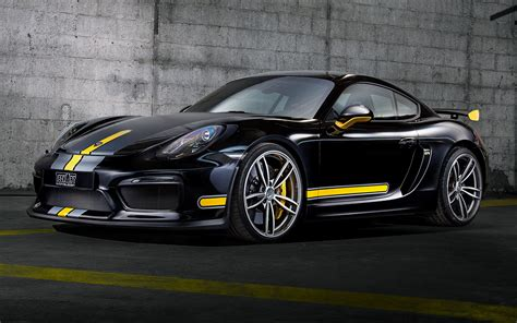 porsche cayman gt  techart  wallpapers  hd