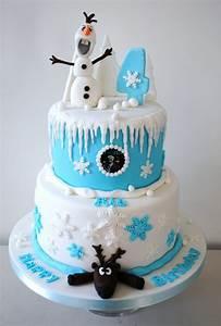 Gateau Anniversaire Reine Des Neiges : g teau reine des neiges pour un anniversaire th matique ~ Melissatoandfro.com Idées de Décoration