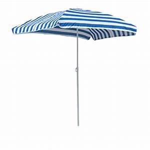 Sonnenschirm Rechteckig Knickbar Höhenverstellbar : rechteckiger sonnenschirm schirm blau wei gestreift 120x180cm inkl tasche ebay ~ Buech-reservation.com Haus und Dekorationen