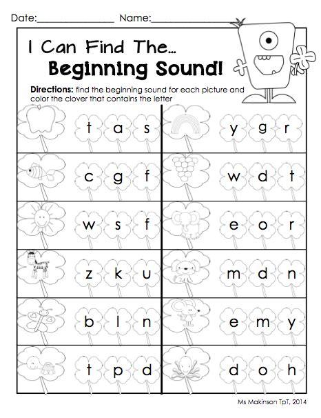 March Printables  Kindergarten Literacy And Math  Teacher  Pinterest Kindergarten