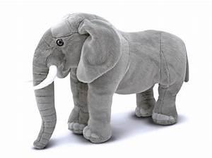 Peluche Geante Elephant : peluche elephant geant realiste 70 cm ~ Teatrodelosmanantiales.com Idées de Décoration