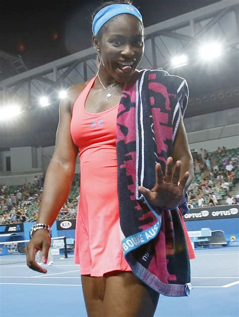 did stephens cheer when serena lost in australian open rediff sports