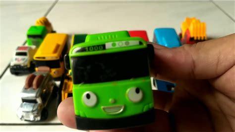 mobil wheels dan tayo mainan anak anak youtube