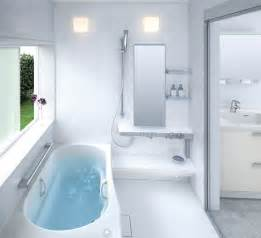 small bathroom layouts by toto digsdigs - Bathtub Ideas For Small Bathrooms