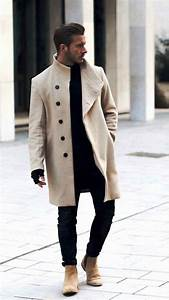 30 Awesome Overcoat Outfit Ideas For Men To Try - Instaloverz