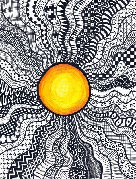 Image result for sun doodle patterns step by step - # ...