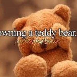 Just Girly Things Owning A Teddy Bear | Just Girly Things ...