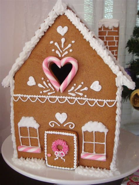 butter hearts sugar gingerbread house part  making