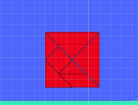 tangram algodoo