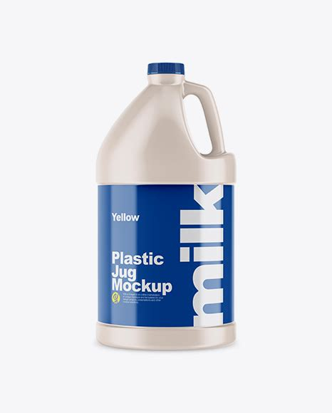 A wide variety of plastic milk jug lid options are available to you, such as material, plastic type. 64oz Plastic Jug Mockup - Frosted Plastic Juice Jug Mockup ...