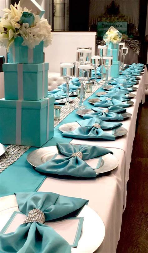tiffany  company bridalwedding shower party ideas