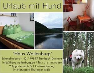 Hund Im Haus : ferienwohnungen mit hund haus wallenburg ~ Lizthompson.info Haus und Dekorationen