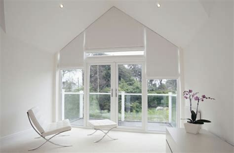 Triangle Window Darkening ? Window Blinds Or Window Film