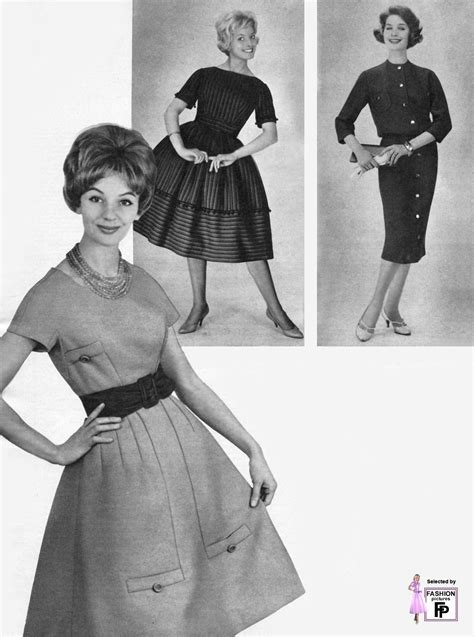 Retro fashion pictures from the 1950s 1960s 1970s 1980s