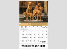 Dogs Promotional Calendar 65¢ Business Advertsing Calendar