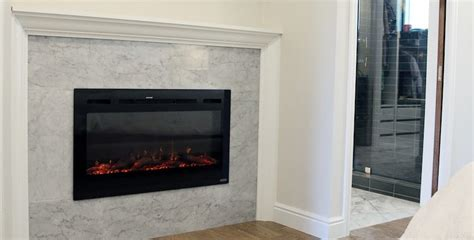 How To Diy A Built-in Electric Fireplace