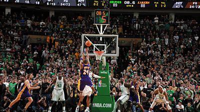 Kobe Bryant's Dagger Extends Celtics' Slide to Three ...