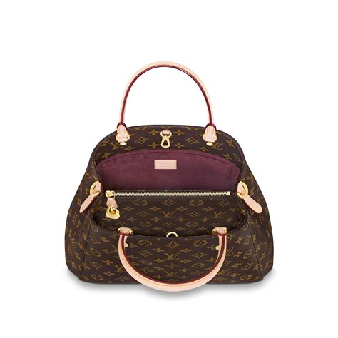 montaigne mm monogram  brown handbags  louis vuitton
