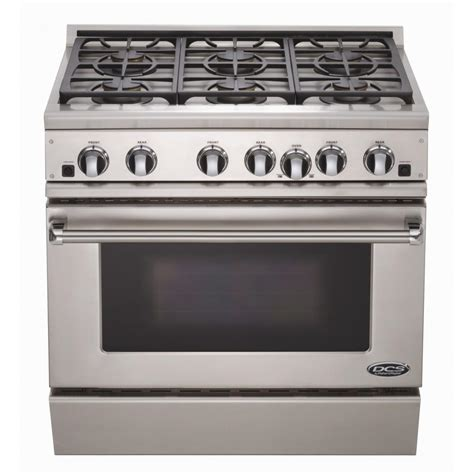 DCS Ranges 36Inch Propane Gas Range By Fisher Paykel