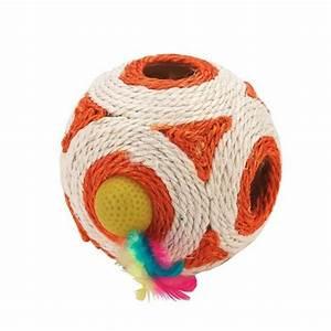 Balle Pour Chat : d jouer en sisal balle pour chat kerbl wanimo ~ Teatrodelosmanantiales.com Idées de Décoration