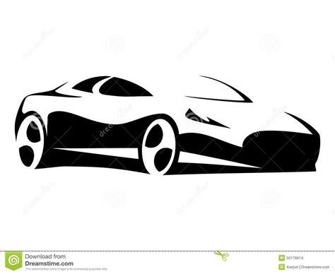 car silhouette modern stock vector image