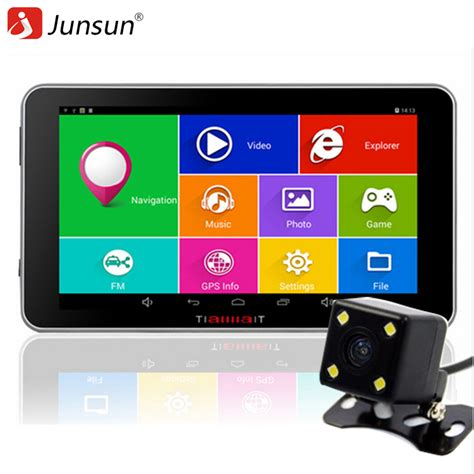 android gps aliexpress buy junsun 7 quot car gps navigation android