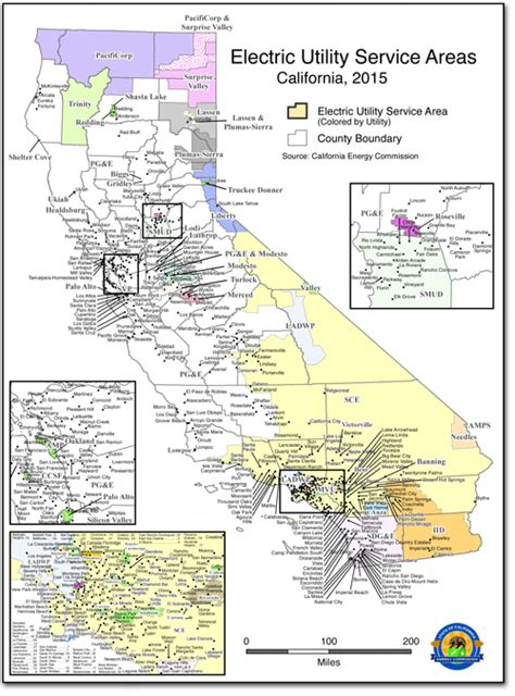 Service California by Energy Maps Of California California Energy Commission