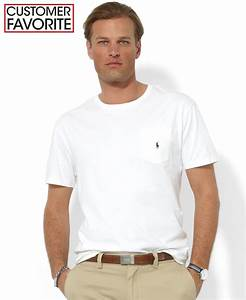 Polo ralph lauren Men's T-shirt, Core Standard Fit Polo ...