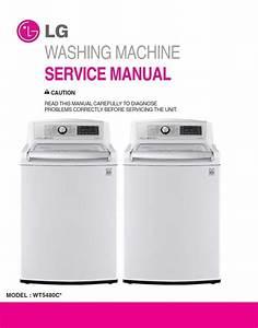 Lg Wt5480cw Washing Machine Service Manual