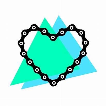 Chain Giphy Bicycle Bike Digital Tweet Animated