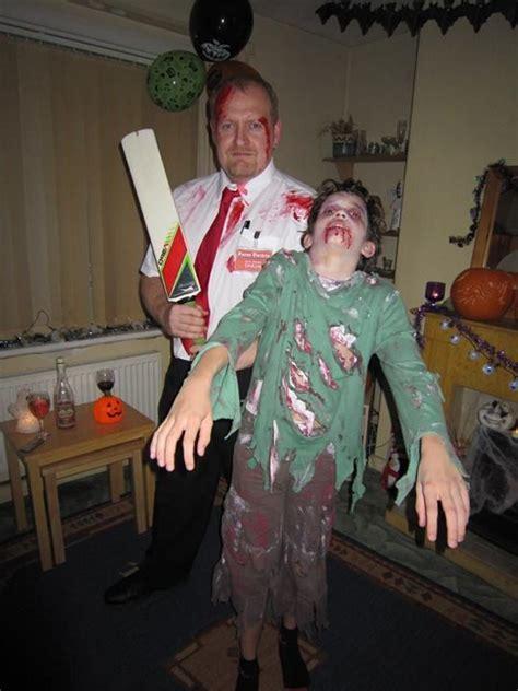 shaun   dead  zombie fancy dress  face paint