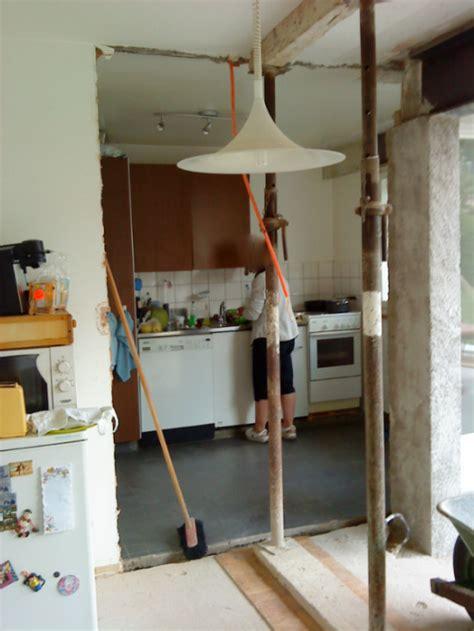 cuisine avec passe plat ouvrir un mur porteur