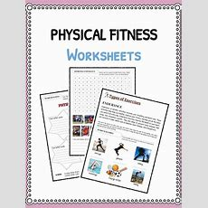 Physical Fitness Facts & Worksheets & Information For Kids
