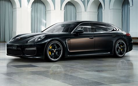 porsche panamera turbo  executive exclusive series