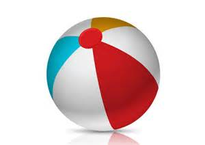 Beach Ball Vector Free