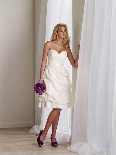 Dresses Short Flower Sweetheart Beach Ribbon Bridal