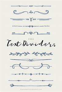 Text Dividers - Designs By Miss Mandee
