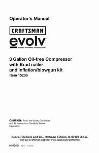 Craftsman 15206 Users Manual